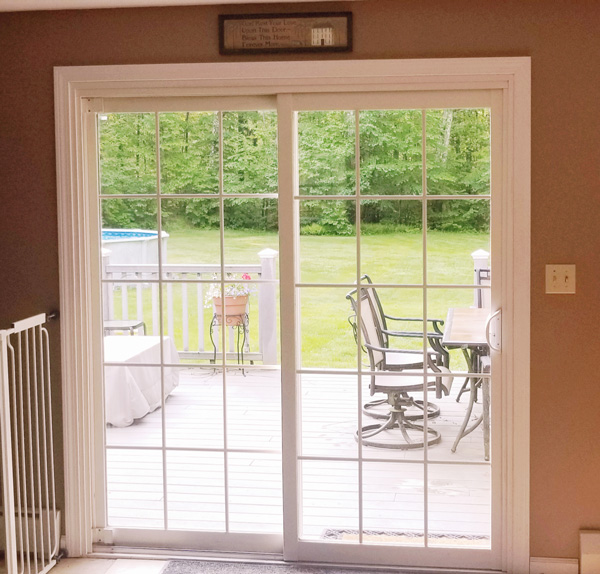 Patio Door Window Grids